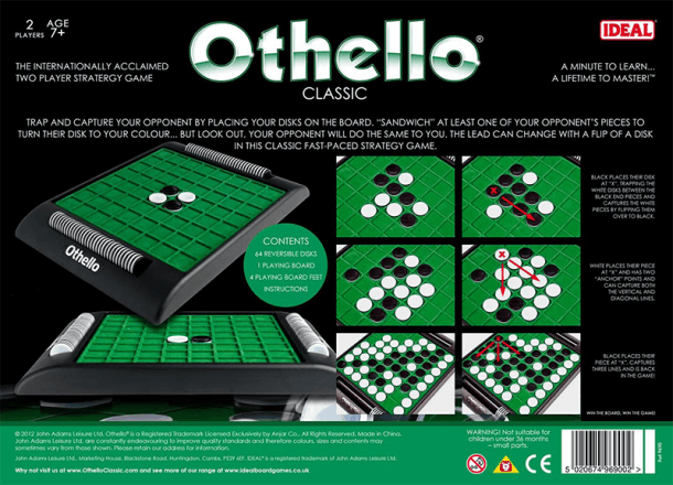 Othello Back of Box