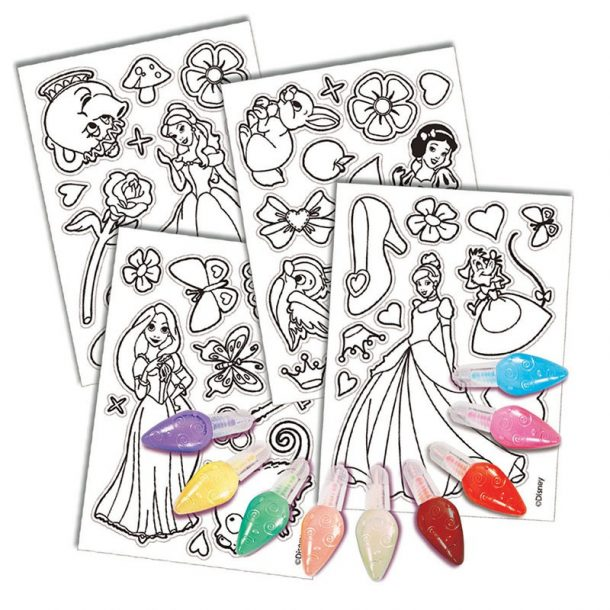 Disney Princess Jelly Stickers Contents