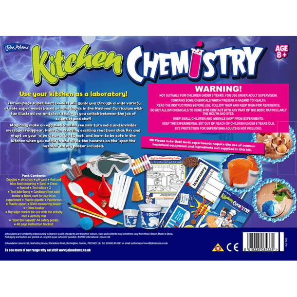 Kitchen Chemistry Box Back