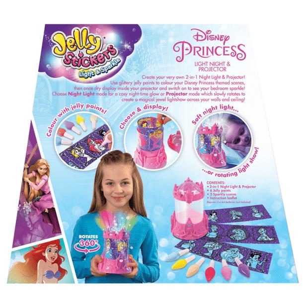 Disney Princess Projector Back of Box
