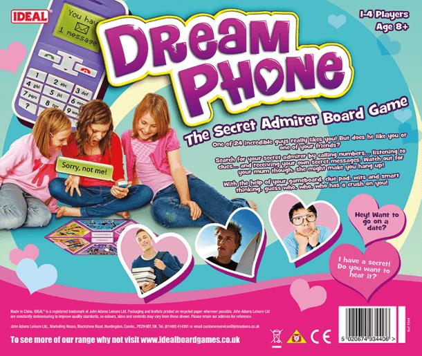 Dream Phone Back of Box