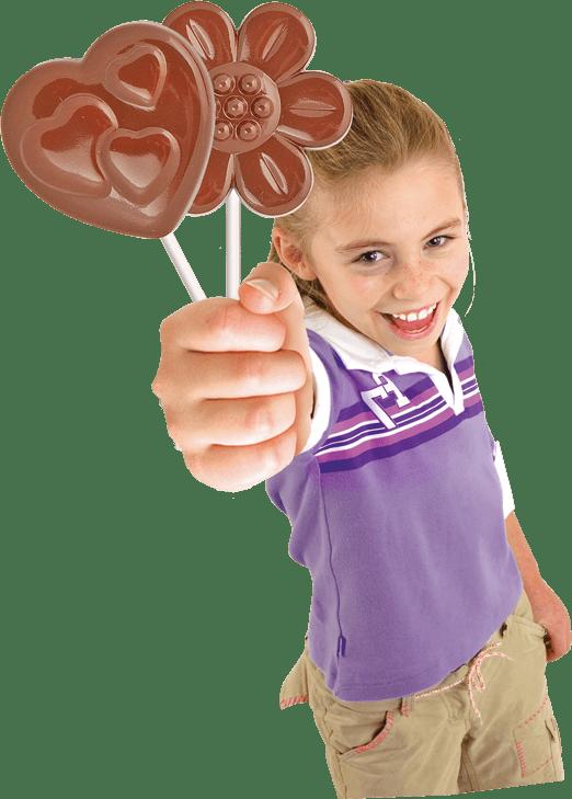 Chocolate Lolly Maker John Adams
