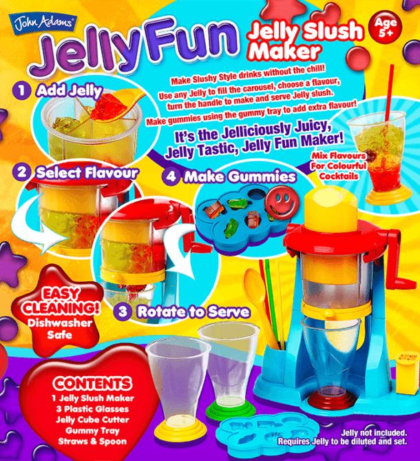 Jelly Fun Back of Box