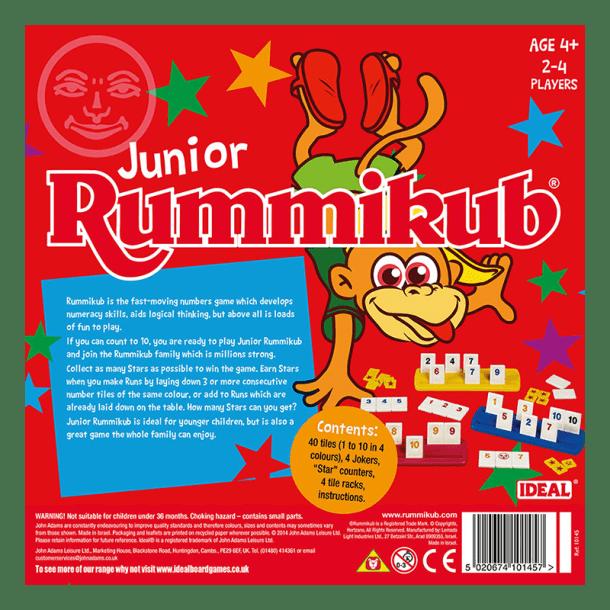 Junior Rummikub Back of Box