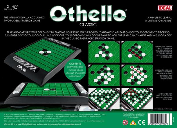 Othello Back of Box
