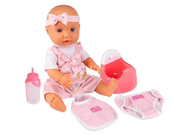 Tiny Tears Interactive Doll Contents