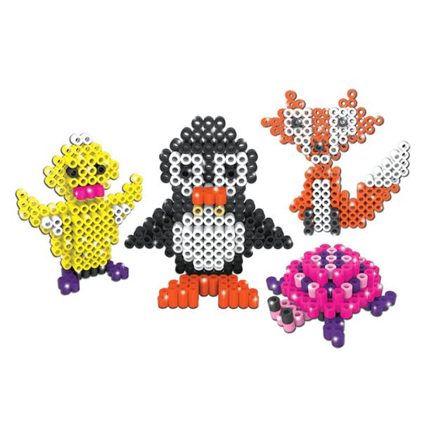 eZee-Beads 3D Animal Friends Shapes
