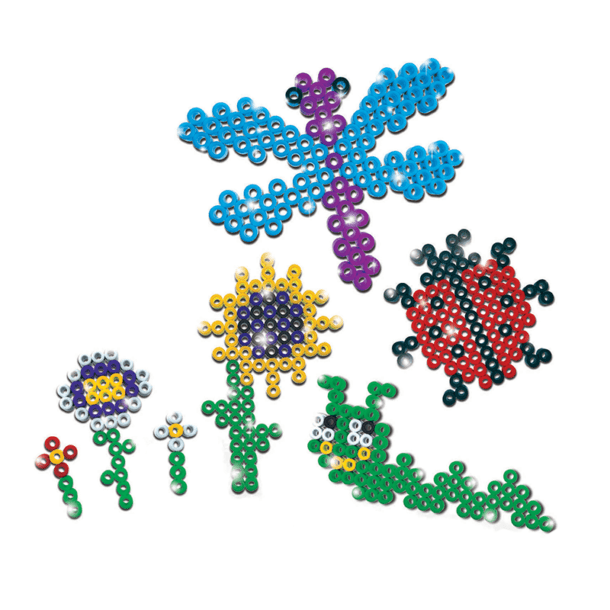 eZee Beads Garden Bugs and Flowers Shapes