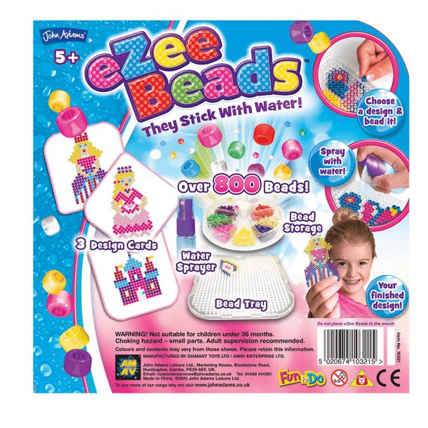 eZee Beads Princess Back of Box